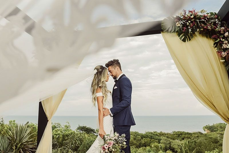 casamento na praia de pipa