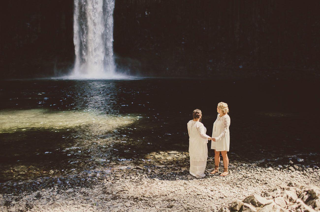 casamento lésbicas cachoeira