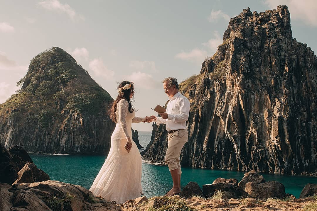 Elopement Wedding em fernando de noronha