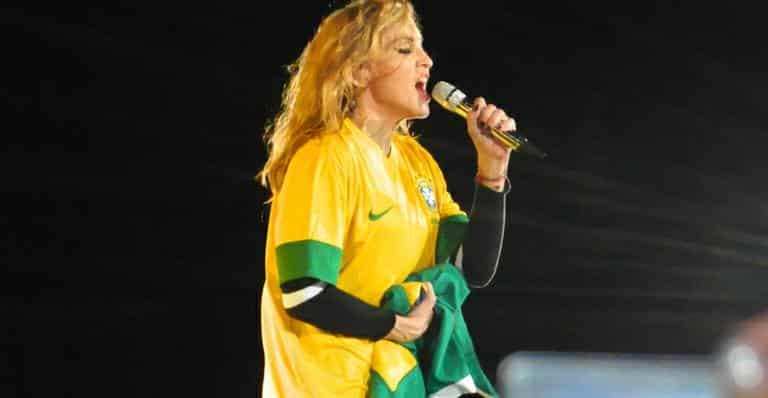 show madonna no Brasil