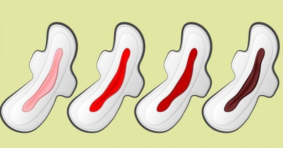 Menstruação escura, o que é? Tipos de cores e principais causas