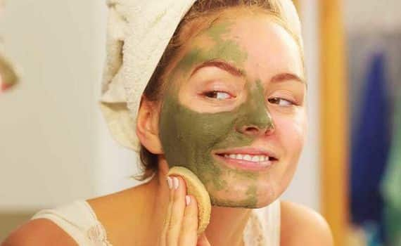 Máscara de chá verde