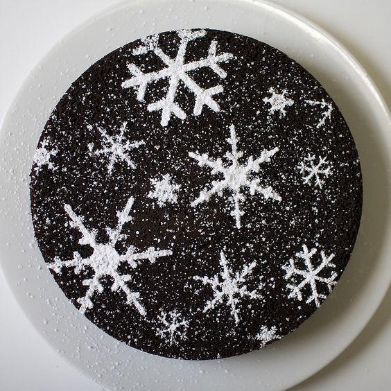 Como decorar bolo com stencil