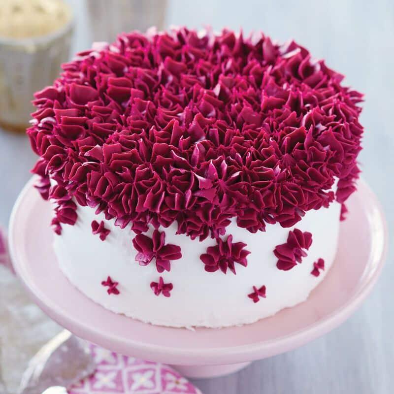 Como decorar bolo com bico de confeiteiro