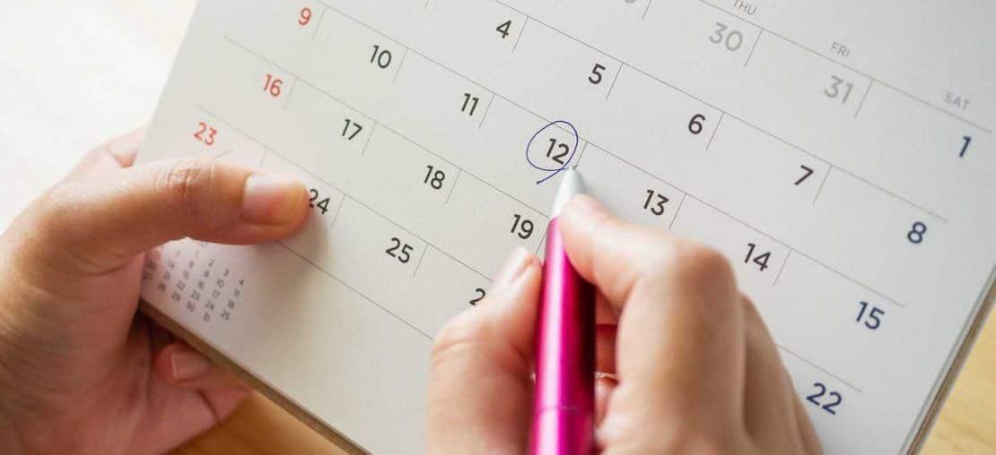 Gravidez - método do calendário