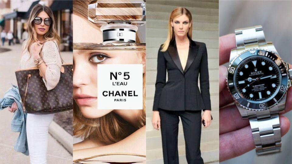 Grifes famosas – 12 marcas de luxo mais caras do mundo