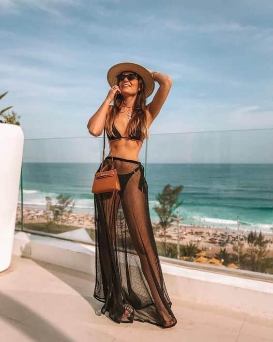 Modelos de saída de praia – Arrase no verão