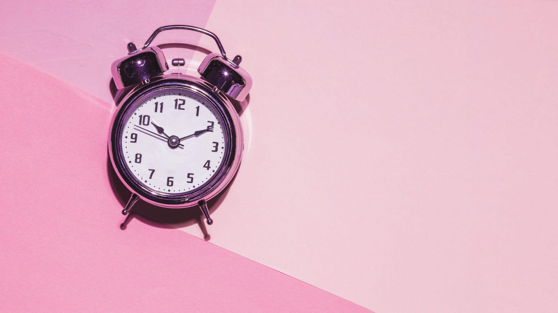 despertador rosa da ovulação