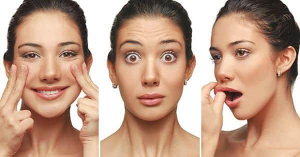 ginastica facial beneficios e movimentos 1 - Gimnasia facial, ¿que es?  Beneficios y movimientos