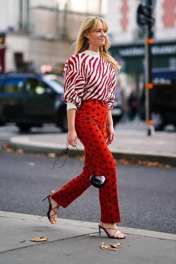 Looks vermelhos - inspirações