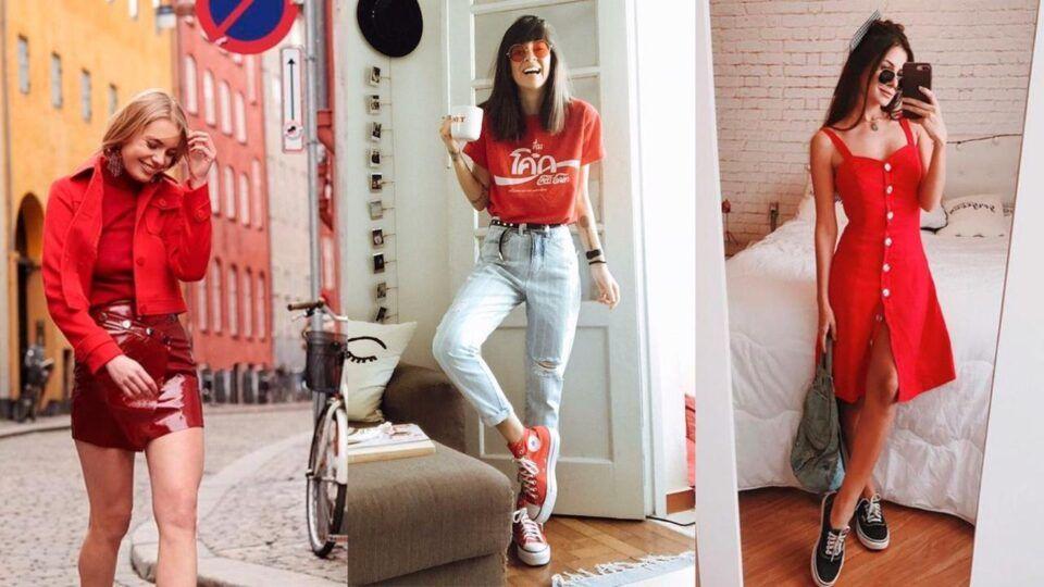 Looks Vermelhos – Inspirações e dicas de como usar a tonalidade