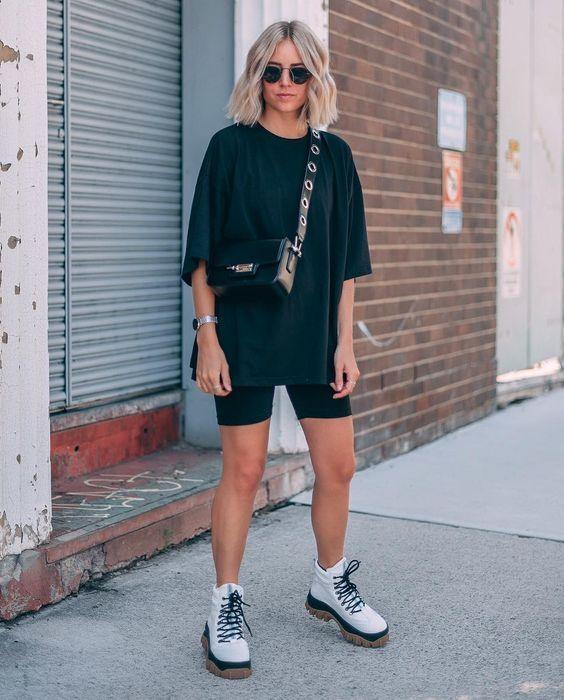 bermuda ciclista o que e como usar inspiracoes 11 - Pantalones cortos de ciclismo - Cómo usar + looks inspiradores