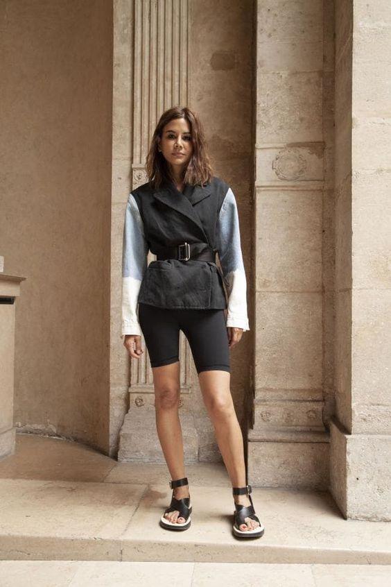 bermuda ciclista o que e como usar inspiracoes 23 - Pantalones cortos de ciclismo - Cómo usar + looks inspiradores