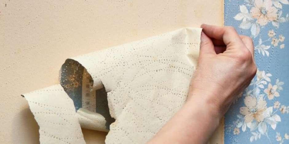 Como tirar papel de parede – Preparação e 4 formas práticas de remoção