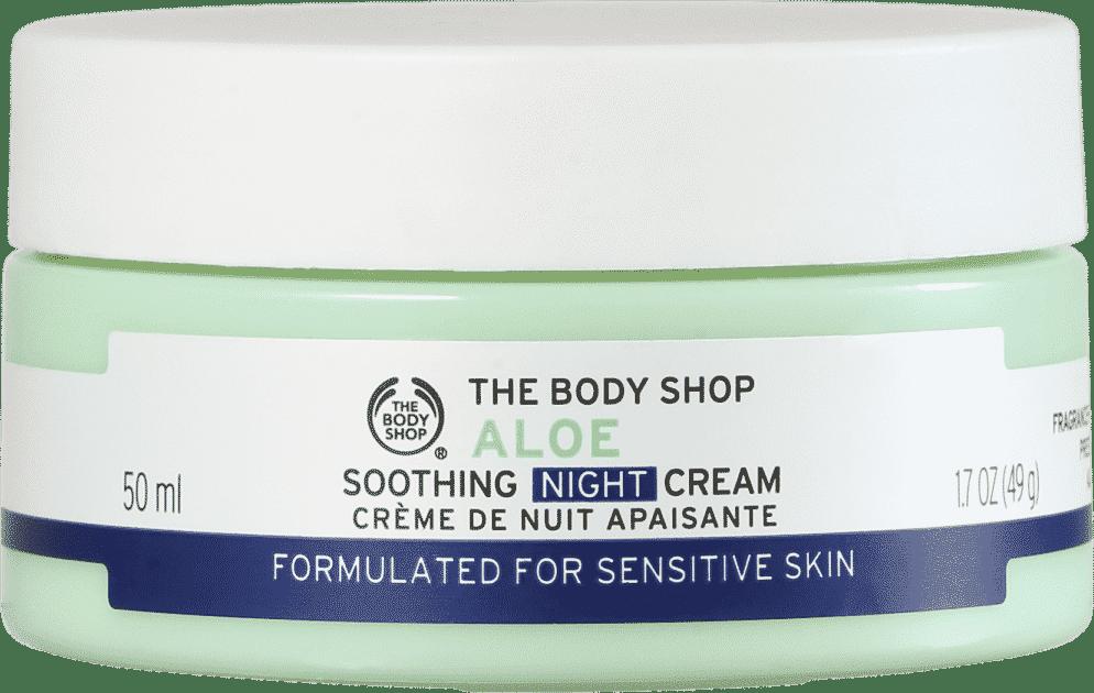Hidratante facial calmante noturno, The Body Shop