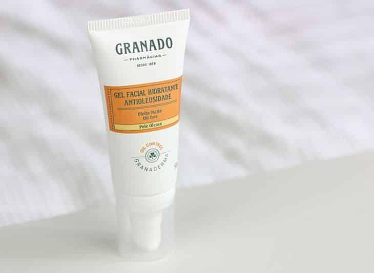 Gel facial hidratante antioleosidade, Granado