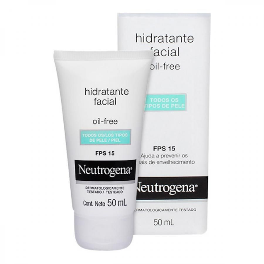 Gel creme hidratante facial, Oil Free, Neutrogena
