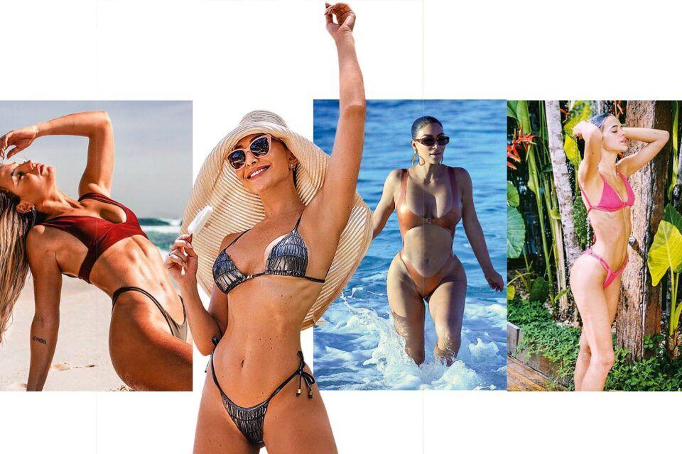 Modelos de biquíni – Os principais modelos que estão bombando no verão