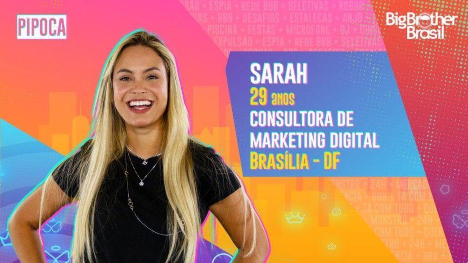 Sarah, quem é? Biografia, história e participação no BBB 21