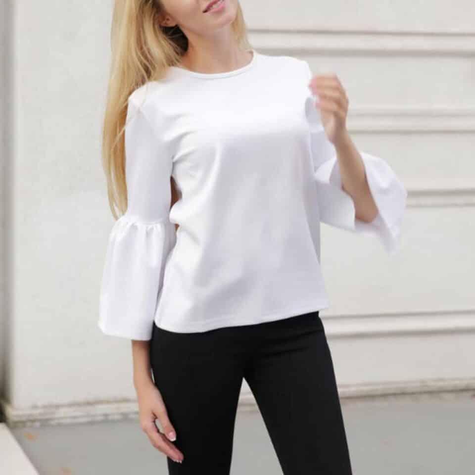 tipos de blusa tipos de modelos composicoes e tendencias para 2021 960x960 - Tipos de blusa: modelos, composiciones y tendencias para 2021.