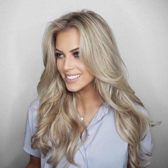 cabelo loiro como cuidar variedade de tons e inspiracoes 22 - Cabello rubio - Variedad de tonos, cómo cuidar e inspiraciones
