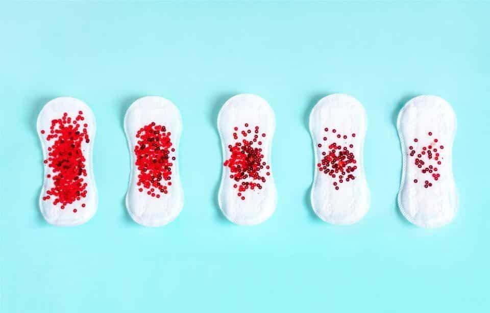 Fluxo menstrual – Volume, intensidade, fases, cores e irregularidades