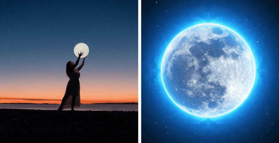 Lua Cheia – A energia da lua e fases, ritual de abundância e simpatias