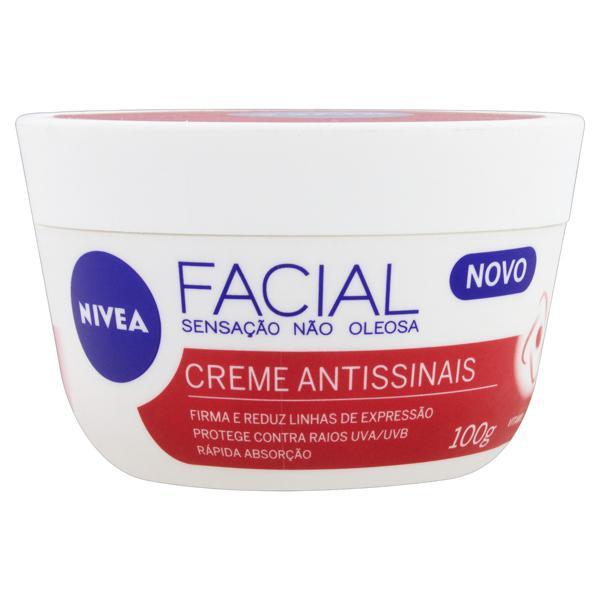 Creme Facial Antissinais, da Nivea