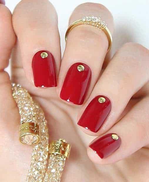 unhas vermelhas historia do esmalte vermelho 50 inspiracoes incriveis 16 - Uñas rojas - Historia del esmalte de uñas rojo + 50 inspiraciones increíbles