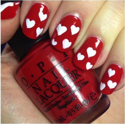 unhas vermelhas historia do esmalte vermelho 50 inspiracoes incriveis 23 - Uñas rojas - Historia del esmalte de uñas rojo + 50 inspiraciones increíbles