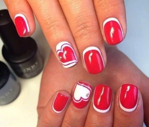 unhas vermelhas historia do esmalte vermelho 50 inspiracoes incriveis 24 - Uñas rojas - Historia del esmalte de uñas rojo + 50 inspiraciones increíbles