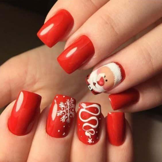 unhas vermelhas historia do esmalte vermelho 50 inspiracoes incriveis 27 - Uñas rojas - Historia del esmalte de uñas rojo + 50 inspiraciones increíbles