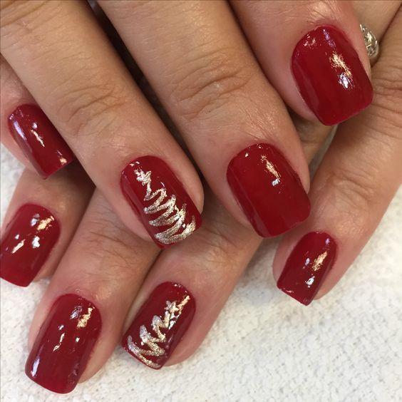 unhas vermelhas historia do esmalte vermelho 50 inspiracoes incriveis 28 - Uñas rojas - Historia del esmalte de uñas rojo + 50 inspiraciones increíbles