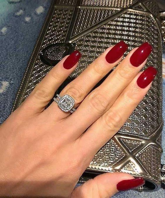 unhas vermelhas historia do esmalte vermelho 50 inspiracoes incriveis 33 - Uñas rojas - Historia del esmalte de uñas rojo + 50 inspiraciones increíbles