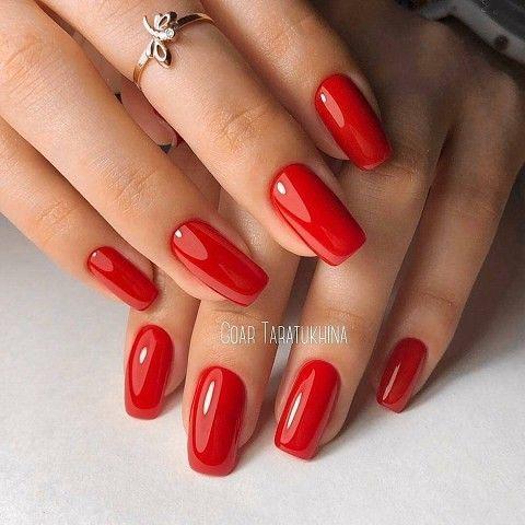 unhas vermelhas historia do esmalte vermelho 50 inspiracoes incriveis 35 - Uñas rojas - Historia del esmalte de uñas rojo + 50 inspiraciones increíbles