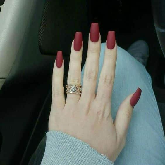 unhas vermelhas historia do esmalte vermelho 50 inspiracoes incriveis 38 - Uñas rojas - Historia del esmalte de uñas rojo + 50 inspiraciones increíbles