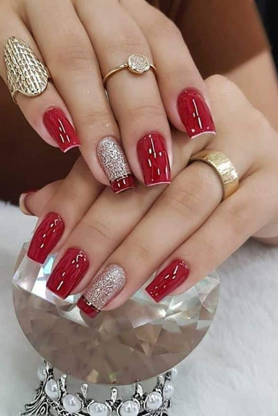 unhas vermelhas historia do esmalte vermelho 50 inspiracoes incriveis 4 - Uñas rojas - Historia del esmalte de uñas rojo + 50 inspiraciones increíbles