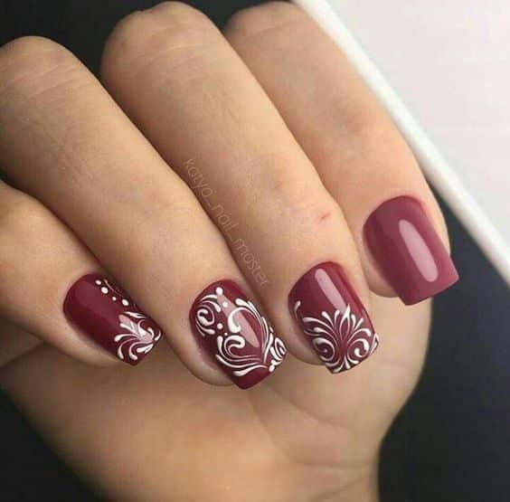 unhas vermelhas historia do esmalte vermelho 50 inspiracoes incriveis 42 - Uñas rojas - Historia del esmalte de uñas rojo + 50 inspiraciones increíbles
