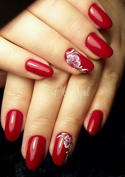 unhas vermelhas historia do esmalte vermelho 50 inspiracoes incriveis 43 - Uñas rojas - Historia del esmalte de uñas rojo + 50 inspiraciones increíbles