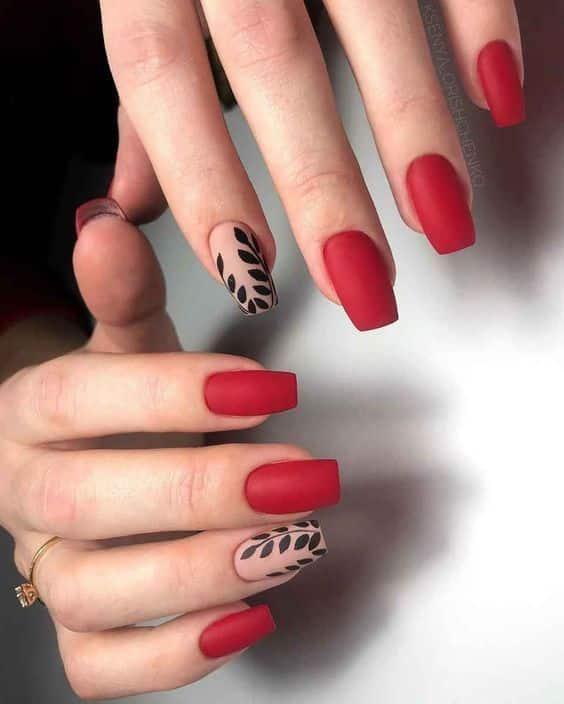 unhas vermelhas historia do esmalte vermelho 50 inspiracoes incriveis 6 - Uñas rojas - Historia del esmalte de uñas rojo + 50 inspiraciones increíbles