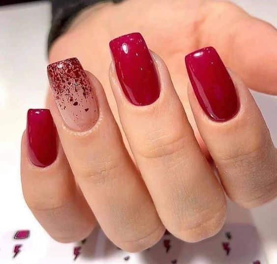 unhas vermelhas historia do esmalte vermelho 50 inspiracoes incriveis 8 - Uñas rojas - Historia del esmalte de uñas rojo + 50 inspiraciones increíbles