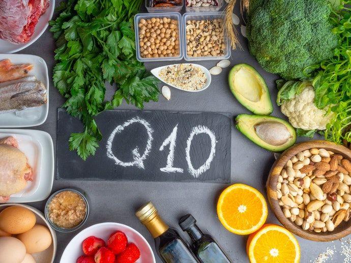 Alimentos com coenzima Q10