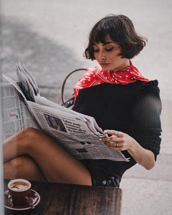Como usar lenço no pescoço - Dicas e inspirações super estilosas