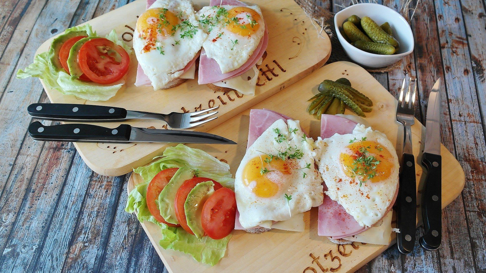 Gorduras boas — ovos