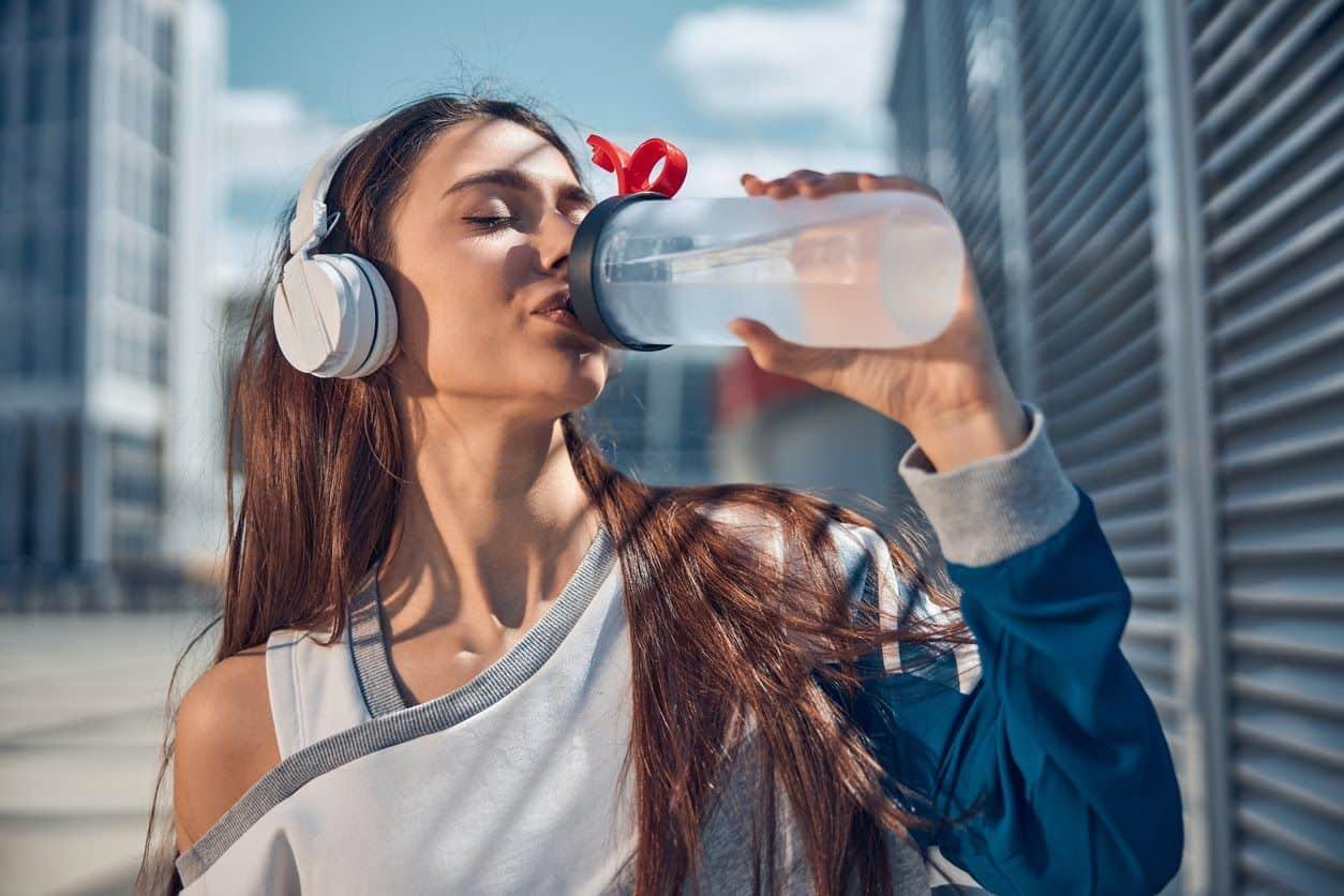 beber água faz bem