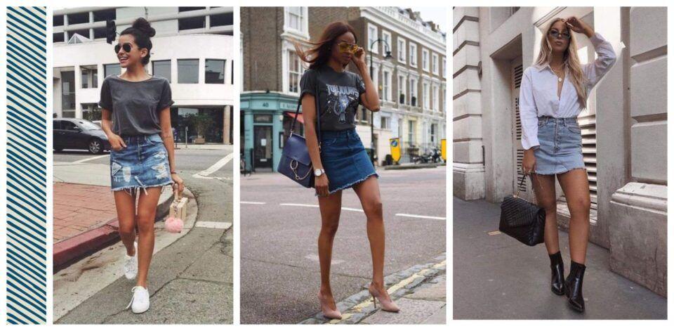 Saia curta – Dicas preciosas de como usar a peça coringa + inspirações