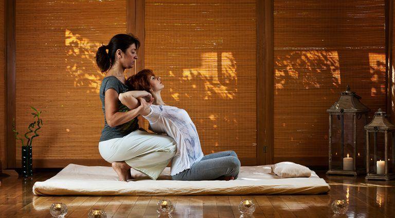 tipos de massagem