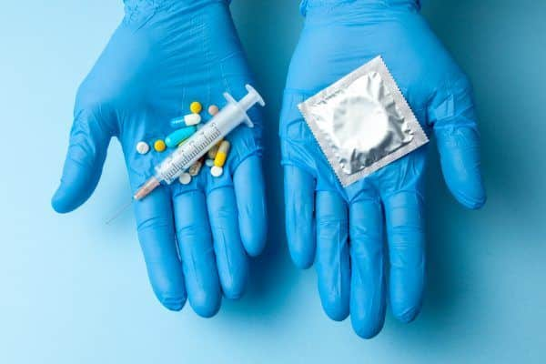 Injeção anticoncepcional mensal